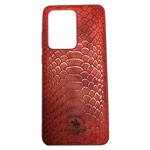 Чехол Santa Barbara Knight для Samsung Galaxy S20 ultra (красный, кожаный)