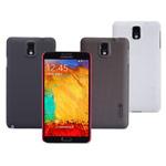 Чехол Nillkin Hard case для Samsung Galaxy Note 3 N9000 (темно-коричневый, пластиковый)