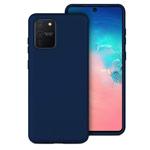 Чехол Yotrix LiquidSilicone для Samsung Galaxy S10 lite (темно-синий, гелевый)