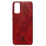 Чехол Santa Barbara Knight для Samsung Galaxy S20 (красный, кожаный)