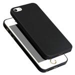 Чехол Yotrix UltrathinCase для Apple iPhone SE (черный, гелевый)