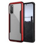 Чехол X-doria Defense Shield для Samsung Galaxy S20 (красный, маталлический)