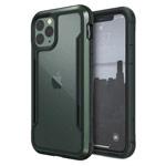 Чехол X-doria Defense Shield для Apple iPhone 11 pro max (темно-зеленый, маталлический)