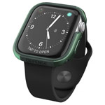 Чехол X-doria Defense Edge для Apple Watch Series 4 (44 мм, темно-зеленый, маталлический)