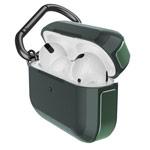 Чехол X-doria Defense Trek для Apple AirPods pro (темно-зеленый, маталлический)