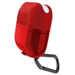 Чехол X-doria Defense Journey для Apple AirPods (красный, гелевый/пластиковый)