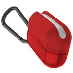 Чехол X-doria Defense Journey для Apple AirPods pro (красный, гелевый/пластиковый)