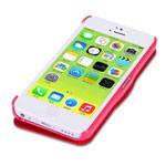 Чехол Nillkin Side leather case для Apple iPhone 5C (красный, кожанный)