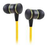 Наушники Awei Detailed Sound (черный/желтый, пульт/микрофон, 20-20000 Гц, 10 мм)