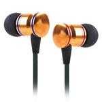 Наушники Awei Detailed Sound (золотистый/красный, пульт/микрофон, 20-20000 Гц, 10 мм)