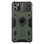 Чехол Nillkin CamShield Armor для Apple iPhone 11 pro (темно-зеленый, композитный)