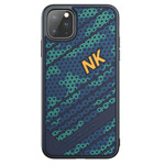 Чехол Nillkin Striker case для Apple iPhone 11 pro max (синий, гелевый)