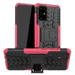Чехол Yotrix Shockproof case для Samsung Galaxy S20 plus (розовый, гелевый)