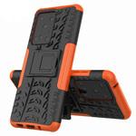 Чехол Yotrix Shockproof case для Samsung Galaxy S20 ultra (оранжевый, гелевый)