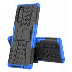 Чехол Yotrix Shockproof case для Sony Xperia 5 (синий, гелевый)