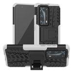 Чехол Yotrix Shockproof case для Huawei P40 (белый, гелевый)
