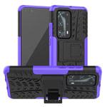 Чехол Yotrix Shockproof case для Huawei P40 (фиолетовый, гелевый)