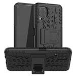 Чехол Yotrix Shockproof case для Huawei P40 lite (черный, гелевый)