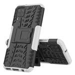 Чехол Yotrix Shockproof case для Huawei P40 lite (белый, гелевый)