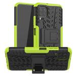Чехол Yotrix Shockproof case для Huawei P40 lite (зеленый, гелевый)