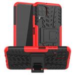 Чехол Yotrix Shockproof case для Huawei P40 lite (красный, гелевый)