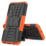Чехол Yotrix Shockproof case для Huawei P40 lite (оранжевый, гелевый)