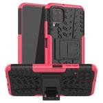 Чехол Yotrix Shockproof case для Huawei P40 lite (розовый, гелевый)