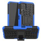 Чехол Yotrix Shockproof case для Huawei P40 lite (синий, гелевый)