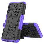 Чехол Yotrix Shockproof case для Huawei P40 lite (фиолетовый, гелевый)