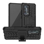 Чехол Yotrix Shockproof case для Huawei P40 pro (черный, гелевый)