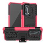 Чехол Yotrix Shockproof case для Huawei P40 pro (розовый, гелевый)