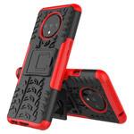 Чехол Yotrix Shockproof case для OnePlus 7T (красный, гелевый)