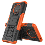 Чехол Yotrix Shockproof case для OnePlus 7T (оранжевый, гелевый)