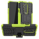 Чехол Yotrix Shockproof case для OnePlus 7T pro (зеленый, гелевый)