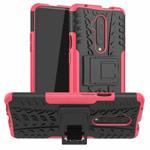 Чехол Yotrix Shockproof case для OnePlus 7T pro (розовый, гелевый)