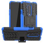 Чехол Yotrix Shockproof case для OnePlus 7T pro (синий, гелевый)