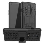 Чехол Yotrix Shockproof case для OnePlus 8 (черный, гелевый)