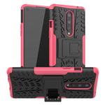 Чехол Yotrix Shockproof case для OnePlus 8 (розовый, гелевый)