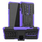 Чехол Yotrix Shockproof case для OnePlus 8 (фиолетовый, гелевый)