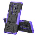 Чехол Yotrix Shockproof case для OnePlus 8 pro (фиолетовый, гелевый)