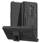 Чехол Yotrix Shockproof case для Oppo Reno 2 (черный, гелевый)