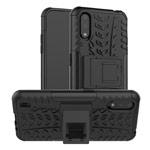 Чехол Yotrix Shockproof case для Samsung Galaxy A01 (черный, гелевый)