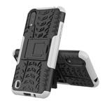 Чехол Yotrix Shockproof case для Samsung Galaxy A01 (белый, гелевый)