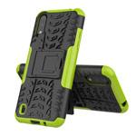 Чехол Yotrix Shockproof case для Samsung Galaxy A01 (зеленый, гелевый)