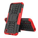 Чехол Yotrix Shockproof case для Samsung Galaxy A01 (красный, гелевый)