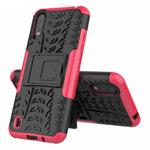 Чехол Yotrix Shockproof case для Samsung Galaxy A01 (розовый, гелевый)