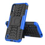 Чехол Yotrix Shockproof case для Samsung Galaxy A01 (синий, гелевый)