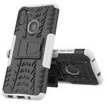 Чехол Yotrix Shockproof case для Samsung Galaxy A11 (белый, гелевый)