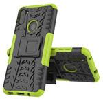 Чехол Yotrix Shockproof case для Samsung Galaxy A11 (зеленый, гелевый)