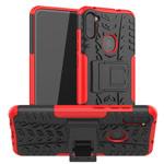 Чехол Yotrix Shockproof case для Samsung Galaxy A11 (красный, гелевый)
